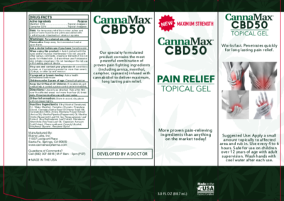 CannaMax CBD50 Package Design